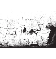 Distress Cracked Plaster vector image