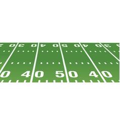basaball field vector image