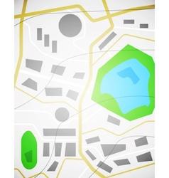 City map design vector image