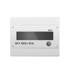 Electric meter vector