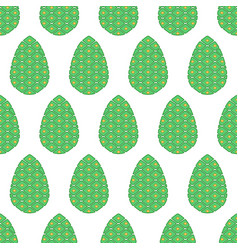 pine cone pattern vector image