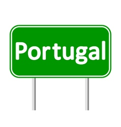 Portugal road sign vector