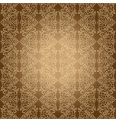 Seamless background for retro design vector image