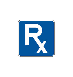 usa traffic road signgeneral service sign vector image