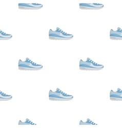 Sneakers icon in cartoon style isolated on white vector image