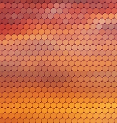 Sundown themed background with circular grid vector image vector image