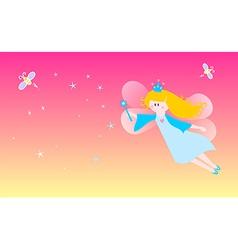 Dreamy fairy vector image vector image