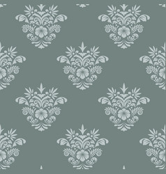 royal seamless background baroque vector image