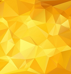 Abstract gold geometrical background vector image