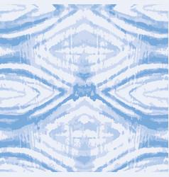 Blue tie dye geoetrical texture seamless vector