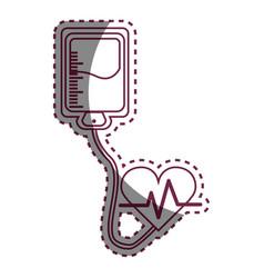 Contour blood donation medical transfusion vector