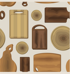 cutting board pattern vector image