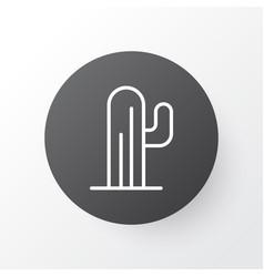desert plant icon symbol premium quality isolated vector image