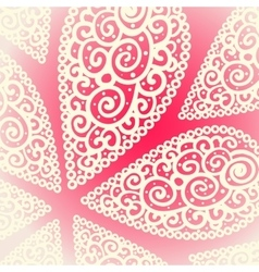 Doodle twirl drops background vector