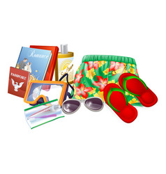 Holiday essentials vector