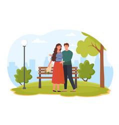 romantic concept vector image