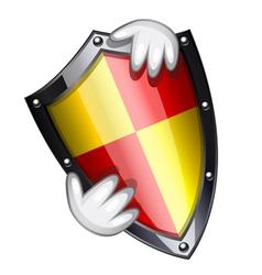 Security shield vector