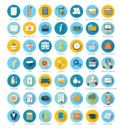 Set for web and mobile applications vector