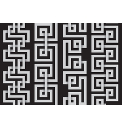 set of lines for making seamless patterns vector image