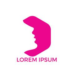 Spa and salon logo design vector