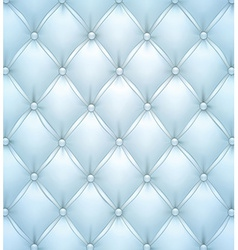 Blue upholstery leather pattern background vector image