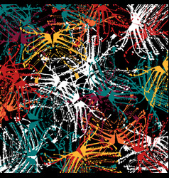 Abstract colored background graffiti beautiful vector
