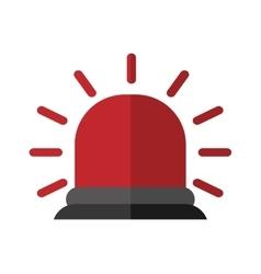 Alarm icon Industrial security design vector