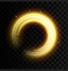 Creative of golden light vector