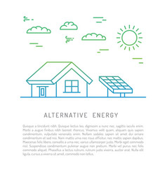 Ecology power concept vector