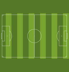 football field simple vector image
