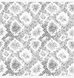 gray realistic snake skin texture detailed vector image