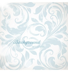 Pastel floral background vector