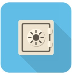 Safe icon vector image