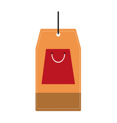 tags in the bags vector image