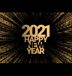 text design 2021 vector image