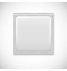 Blank foil packaging vector image
