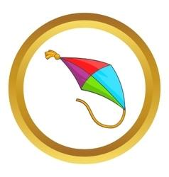 Kite icon vector image