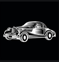 car logo team vector image vector image