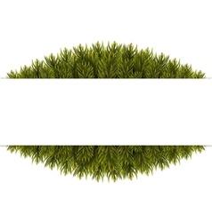 Christmas Tree Borders vector image vector image