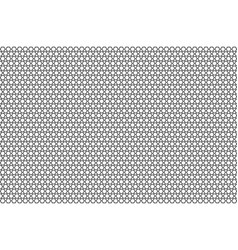 monochrome geometric pattern with honeycombs vector image