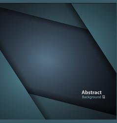 dark green turquoise modern background vector image