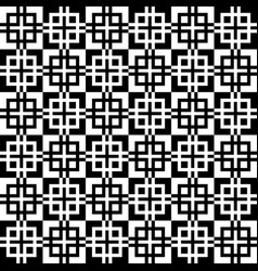 Monochrome seamlessly repeatable pattern abstract vector