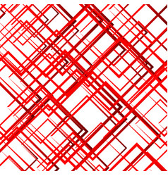 random intersecting lines squares modern colorful vector image