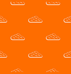sky cloud pattern seamless vector image