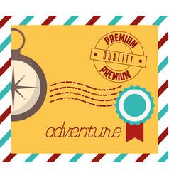 Travel and wanderlust design vector