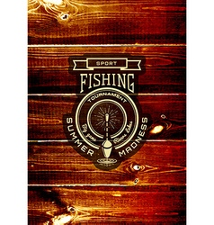 Fishing badges logos and labels for any use vector image