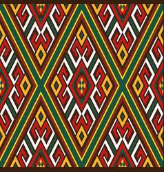 seamless oriental ornamental pattern vector image