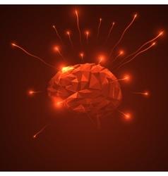 Abstract human brain vector
