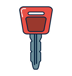 car key symbol vector image