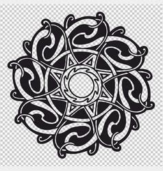 Celtic mandala vector